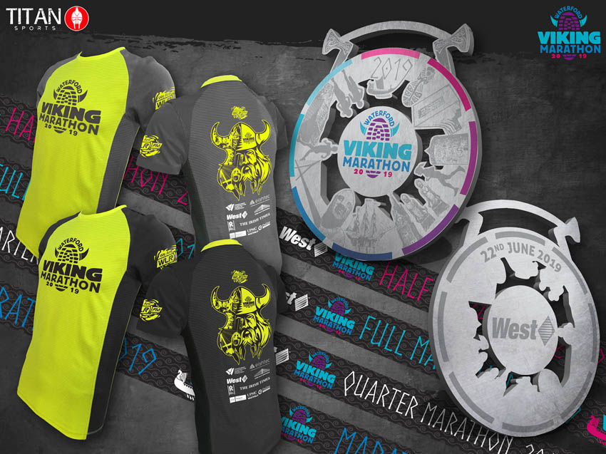 waterford viking marathon bling 2019