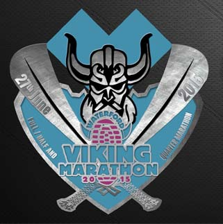 waterford viking marathon medal 2015