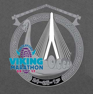 waterford viking marathon medal 2017